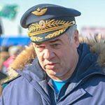 Посещение главнокомандующим ВКС полигона Чауда (республика Крым)